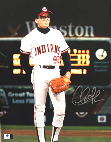 Charlie Sheen Cleveland Indians Signed Autographed Major League Ricky Vaughn Wild Thing 11