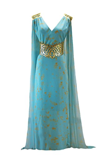 Daenerys Costume Qarth (Women Dress for Daenerys Targaryen Cosplay)