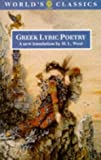 Greek Lyric Poetry, , 0192823604