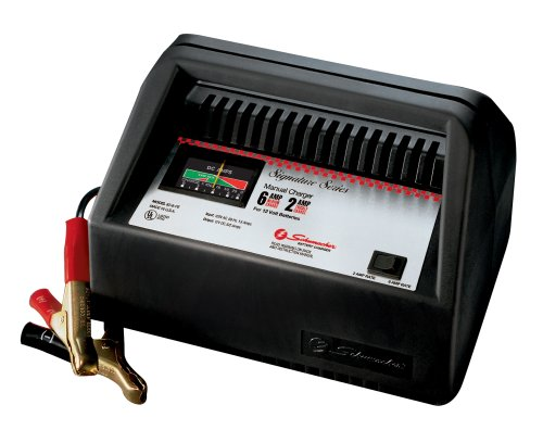 6 Dual Rate Manual - Schumacher 82-6-PE Dual-Rate 2/6 Amp Manual Charger