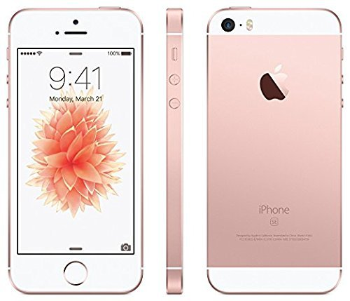 Apple iPhone SE 16GB Sprint No-Contract (Locked) Smartphone - Rose Gold