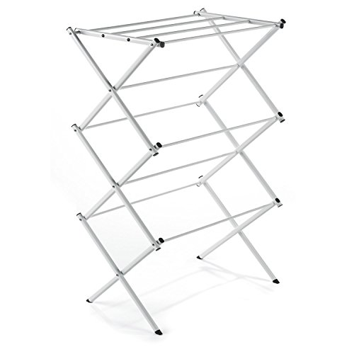 Polder 8311-90 Freestanding Accordion Clothes Drying Rack, 29