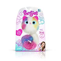 Pomsies Sherbert Plush Interactive Toys, White/Pink/Blue/Purple/Yellow One Size by Skyrocket Toys