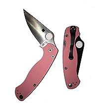 Paramilitary 2 Pink G10 Handle Clip