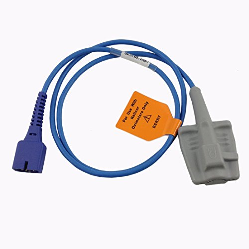 Spo2 Sensor - Nellcor DS100A Oximax Adult Fingertip Spo2 Probe Sensor 3ft 9pin
