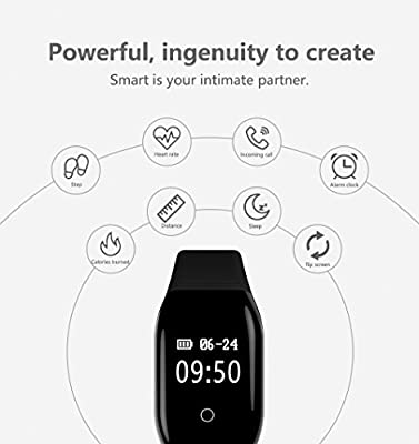 Fitness Tracker Fitness Watch Activity Tracker With Sleep Blood Pleasure Heart Rate Monitor Call Remind Waterproof Pedometer Step Counter Smart Bracelet Wristband Bluetooth for IOS & Android