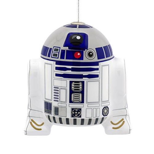 Hallmark Disney Lucasfilm Star Wars R2D2 Decoupage Christmas Ornaments