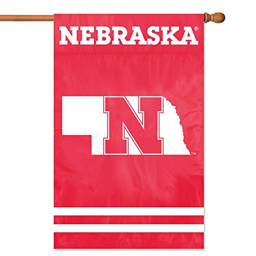 - Party Animal Nebraska Cornhuskers Banner College Flag