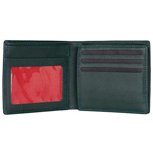 Green Hampton David Trifold Green Label Label Trifold Leather Hampton Green Hampton David David Green Leather 4qqAd