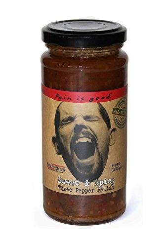 (Pain is Good Sweet & Spicy Three Pepper Relish - 9)