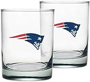 New England Patriots Rocks Glass Set