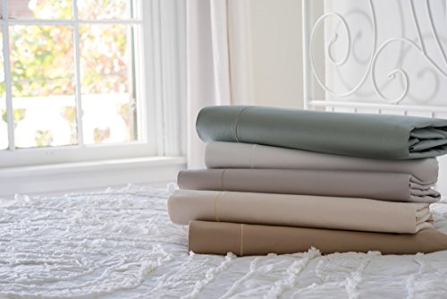 Magnolia Organics Estate Collection Sheet Set, 550 Thread