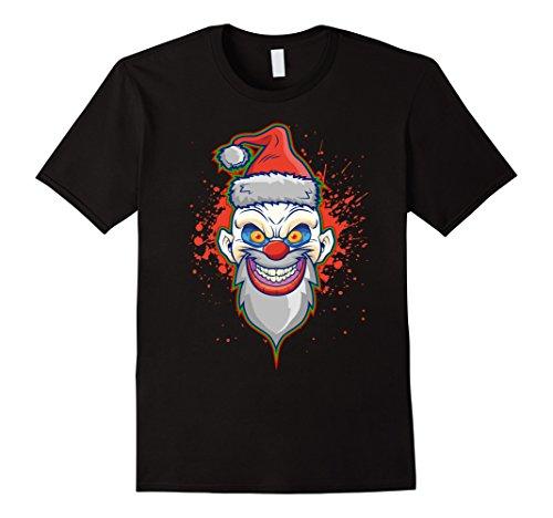 Mens Christmas Clown Juggalo Halloween Christmas Mashup XL Black -