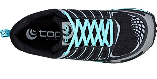 Topo Athletic Hydroventure Trail Running Shoe - Women's Black/Turquoise 8.5 by Topo Athletic (Image #1)