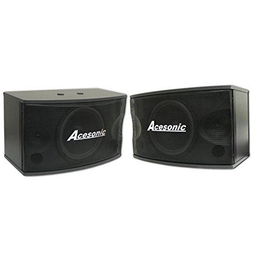 Acesonic SP-450 300W 2 Way Professional PA Karaoke Speaker System 10