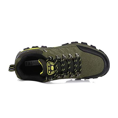 WOWEI Chaussures de Randonnée en Plein Air Imperméable Respirant Antidérapant Bottes de Trekking Promenades Voyages… 3