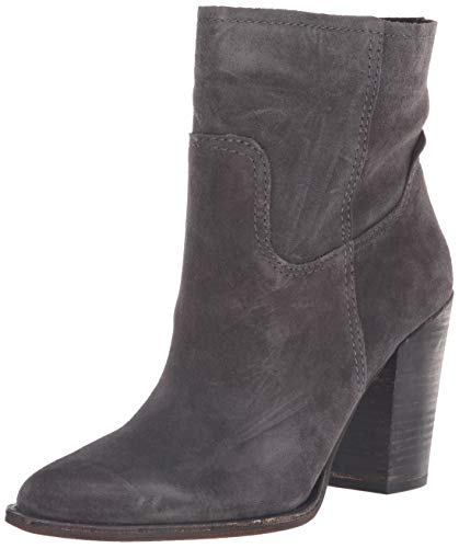 Dolce Vita Women's Kelani Ankle Boot, Anthracite Suede, 8 M US