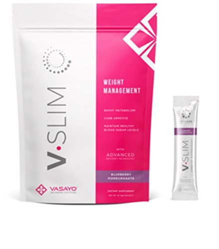 Vasayo V.Slim Blueberry Pomegranate 30 Package (8g) by Vasayo