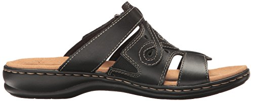 Higley Sandals Women's Leisa Black Clarks Leather Ezq4nwx6
