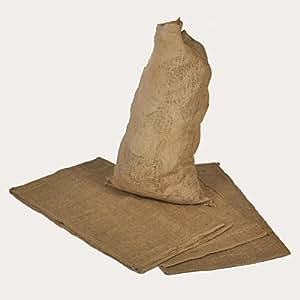 5pieza Sacos de yute 65cm x 135cm saco de patatas cereales Saco 100kg fassend