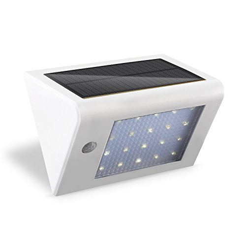 Wall Street S Bright Lights : Deckey Solar Powered Wall Light Super Bright 20 LED Motion Sensor Detector Light Sconces ...