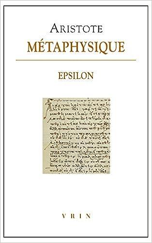 Livres gratuits Métaphysique - Livre Epsilon epub, pdf