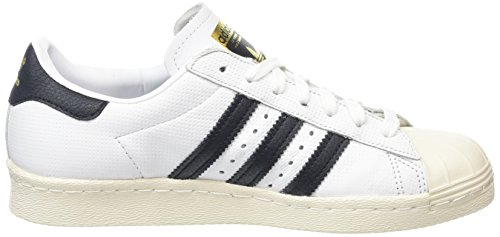 Superstar 80s Sportive adidas Scarpe Black White Uomo Black Running AdqdRz