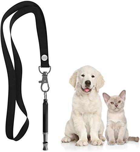 Mumu Sugar Professional Dog Whistles to Stop Barking, Silent Dog Whistle Adjustable Frequencies, Effective Way of…