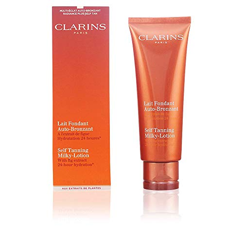 Clarins Self-Tanning Milky Lotion - 4.2 Ounces Body Self Tanning Cream