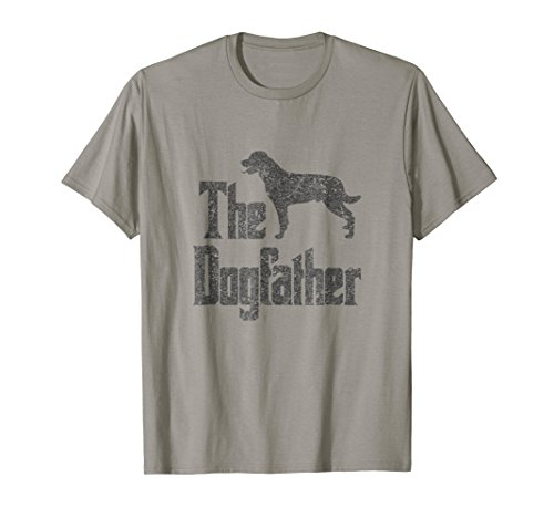 The Dogfather t-shirt, Rottweiler silhouette, funny dog gift