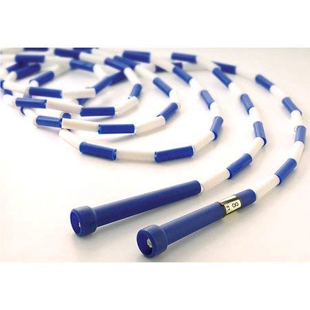 US Games 8' Segmented Skip Rope, Blue/White - 5 Pack by US Games