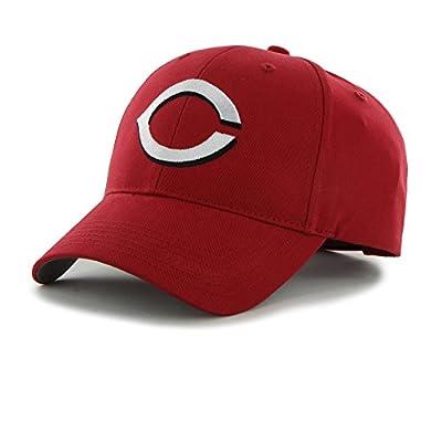 1 Piece Reds Basic Cap For Boys, Baseball Themed Rectangular Hat Sports Pattern Team Logo Fan Merchandise Athletic Team Spirit Fan Stylish Comfortable Red, Cotton