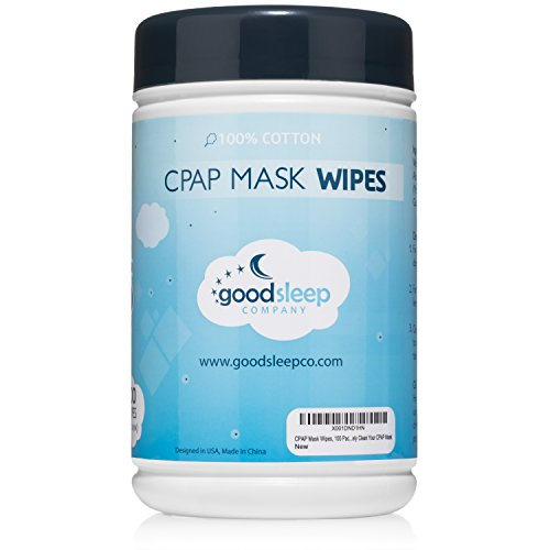 CPAP Mask Cleaning and Sanitizing Wipes, 100 Pack Unscented - Natural Formula, 100% Cotton and Biodegradable by GoodSleep Company (Image #6)