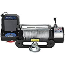 VIPER Winch 8500lb, Steel cable and hawse, handheld and wireless remote