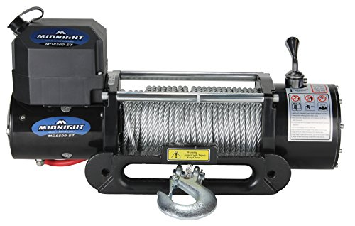 - VIPER Winch 8500lb, Steel cable and hawse, handheld and wireless remote