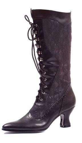 Ellie Shoes Women's 253 Rebecca Victorian Boot, Black, 6 M US ()