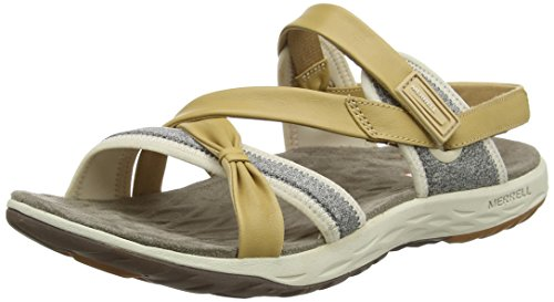Bout Ouvert Femme Merrell Marron Lattice Vesper Tan Sandales OCtOxw6q
