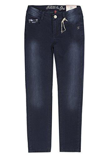 Lemmi Hose Girls Skinny Mid, Jeans para Niñas Azul (Dark Blue Denim 0012)