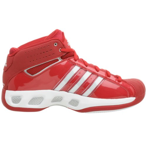 adidas Men's Pro Model Team Color Basketball Shoe,Red/Red,9.5 M by adidas (Image #6)