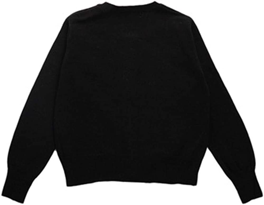 CONGMI Little Girls Long Sleeve Button Uniform Cardigan Toddler Sweater Shrug