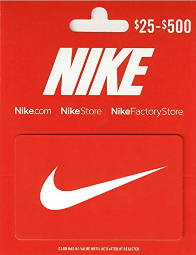 Nike $100 Gift Card (Retail Christmas Stores)