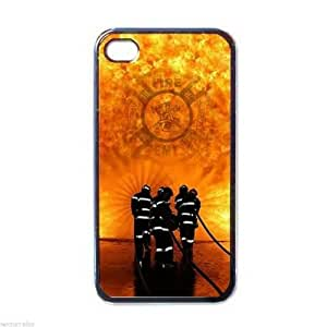 NEW Two iPhone 4 Hard Case Cover EMT Firefighter Fireman Fire Rescue by ruishername
