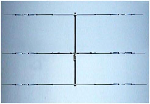Antena yagi 3 Elementos 20/15/10 m 14/21/28 MHz, Boom 5,1 m 8 ...