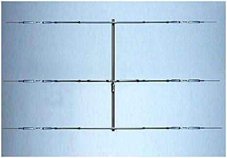 Antena yagi 3 Elementos 20/15/10 m 14/21/28 MHz, Boom 5,1 ...