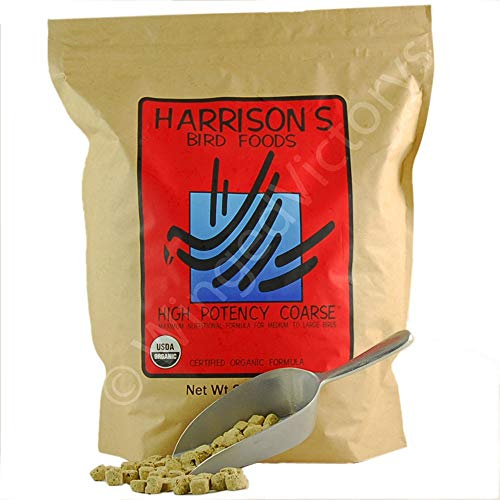 Harrison's Bird Foods High Potency Coarse 25lb