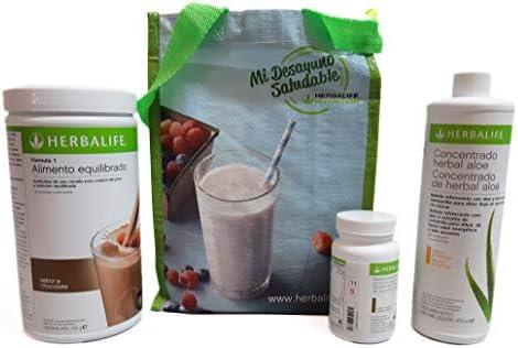 Herbalife Programa completo por perder peso - sabor chocolate cremoso: Amazon.es: Salud y cuidado personal