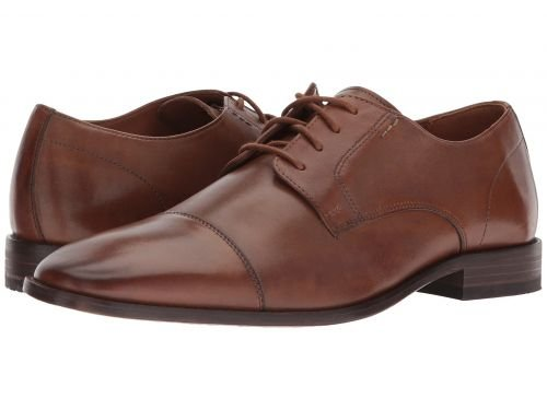 Bostonian(ボストニアン) メンズ 男性用 シューズ 靴 オックスフォード 紳士靴 通勤靴 Nantasket Cap Dark Tan Leather [並行輸入品] B07BMQ77F2 7.5 M (D)