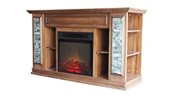 Amazon boston stone electric fireplace home kitchen boston stone electric fireplace teraionfo