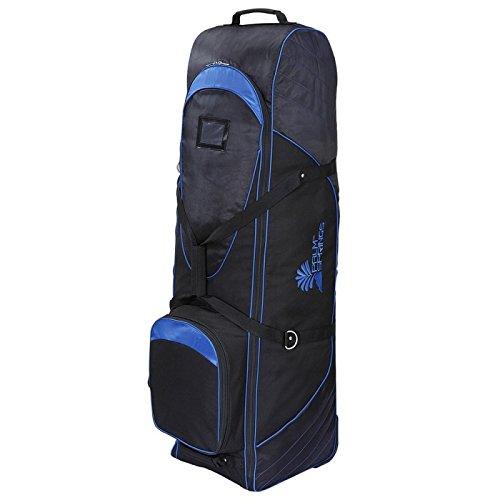 Springs Golf Palm Bag - Palm Springs Golf Bag Tour Travel Cover V2 with Wheels Black/Blue