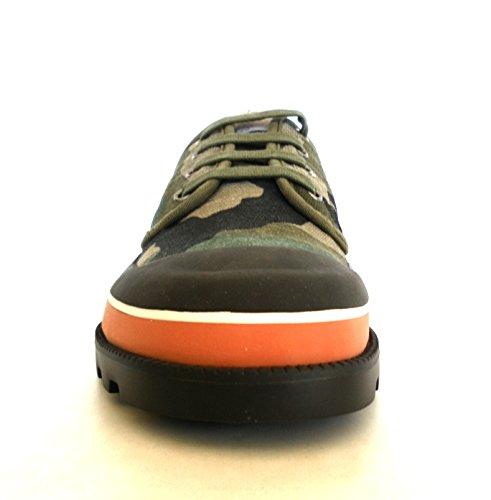 Valentino Garavani sneakers scarpe uomo modello MY2S0967 U62 camouflage verde